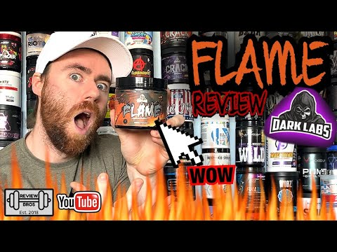 DO YOU WANT THE TRUTH? FLAME PRE WORKOUT COMPREHENSIVE REVIEW | DARK LABS NEW PREWORKOUT 🔥🔥
