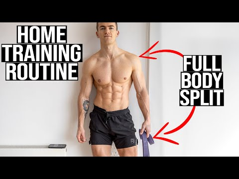 MY NEW DAILY TRAINING ROUTINE (stuck at home)   **free download**