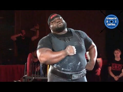Ray Williams 1112.5 kg All Time Total World Record (RAW) - SBD Pro American - 1st Place 120+ kg
