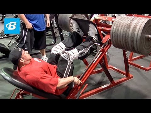 Jay Cutler's High-Volume Olympia Leg Workout   2010 Road to the Olympia