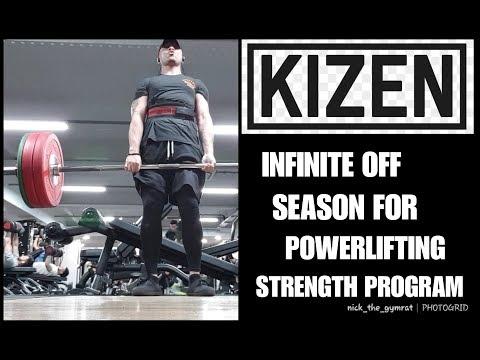 Kizen Infinite Off Season Powerlifting Program