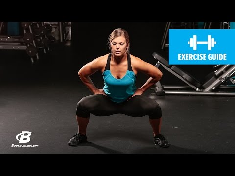 Pop Squats   Exercise Guide