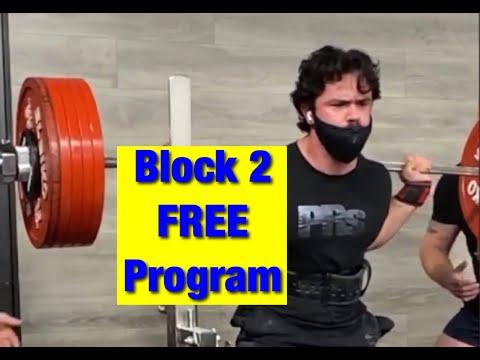 Block 2 - FREE PRs 15 Week Intermediate Program