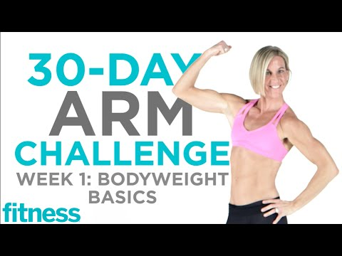 Arm Challenge: Bodyweight Basics | Fitness