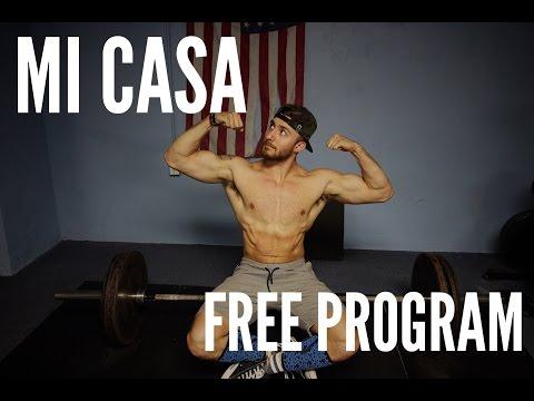 FREE 8 WEEK CONJUGATE STRENGTH WORKOUT PROGRAM | Mi Casa Deadlift Workout |