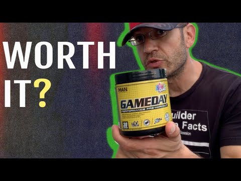 Better than Total War?   MAN Sports GAME DAY Review (Pre Workout)