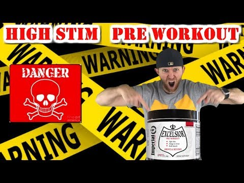 Attention Stim Junkies!!   Excelsior pre workout review by Imperial Nutrition
