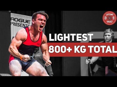 Taylor Atwood - 812 kg Total WR @ 74 kg