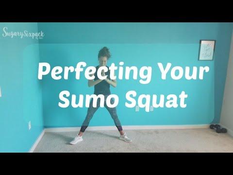 Sumo Squat Tutorial