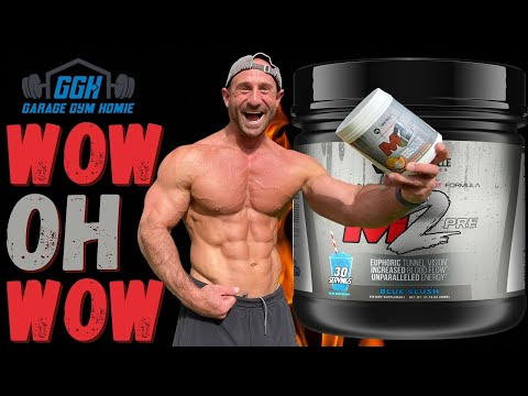 I CAN'T EVEN SEE STRAIGHT! 🤯😱 | Mind Muscle Nutrition M2 Pre-Workout Review