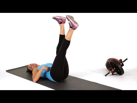 How to Do Scissor Lifts   Abs Workout