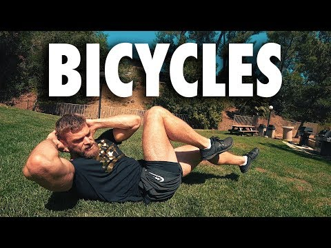 How to Perform Bicycles   Core Bodyweight Exercise Tutorial