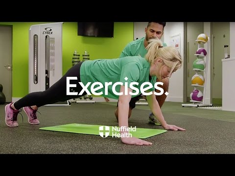 How To Wide-Hands Pushup | Nuffield Health