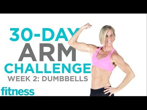 Arm Challenge: Dumbbells | Fitness