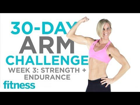 Arm Challenge: Endurance + Strength | Fitness