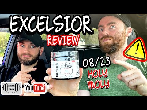 HERE TO TELL YOU THE TRUTH   EXCELSIOR PRE WORKOUT NEWEST BATCH   IMPERIAL NUTRITION 🔞