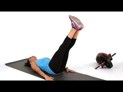 How to Do Leg Drops   Abs Workout