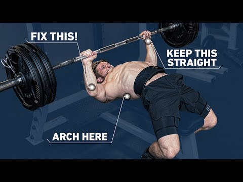 How To Get A Huge Bench Press with Perfect Technique