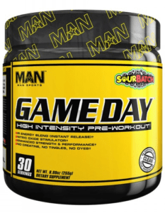 Man Sports Game Day Pre Workout