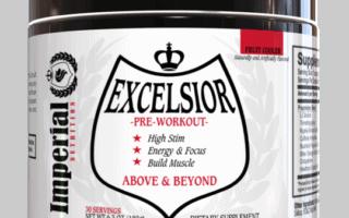 Excelsior Pre Workout