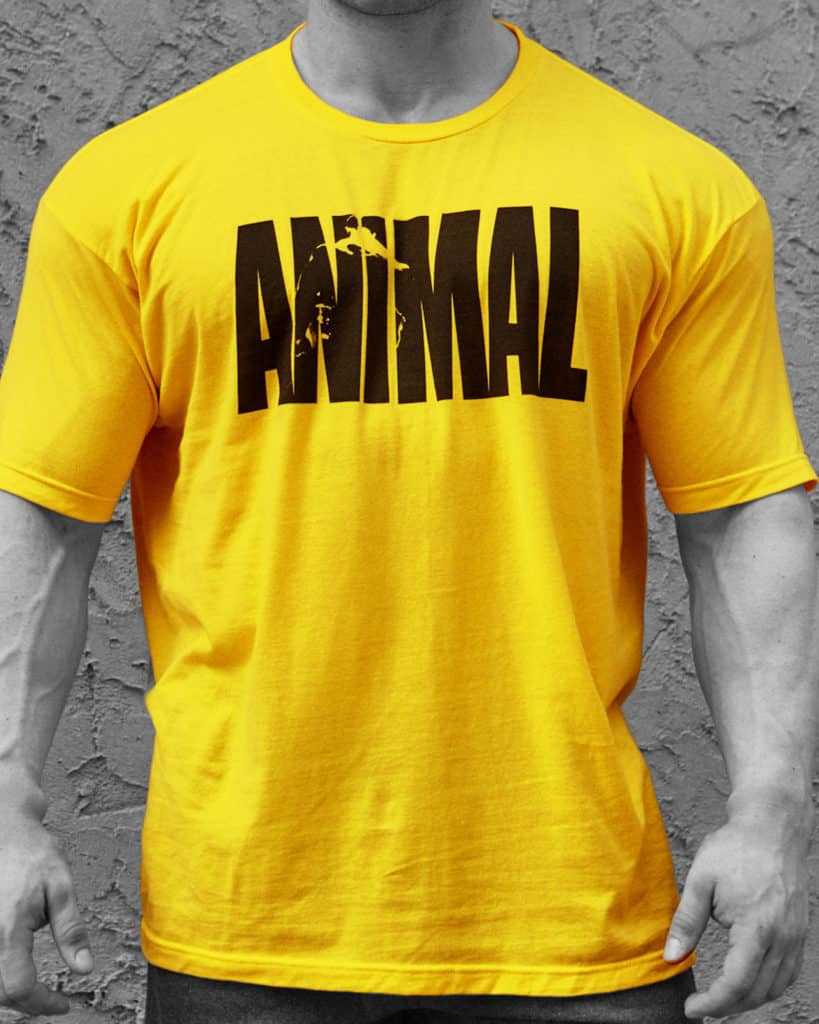 Animal Pak T-Shirt Yellow