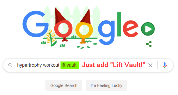 Just add Lift Vault to your search