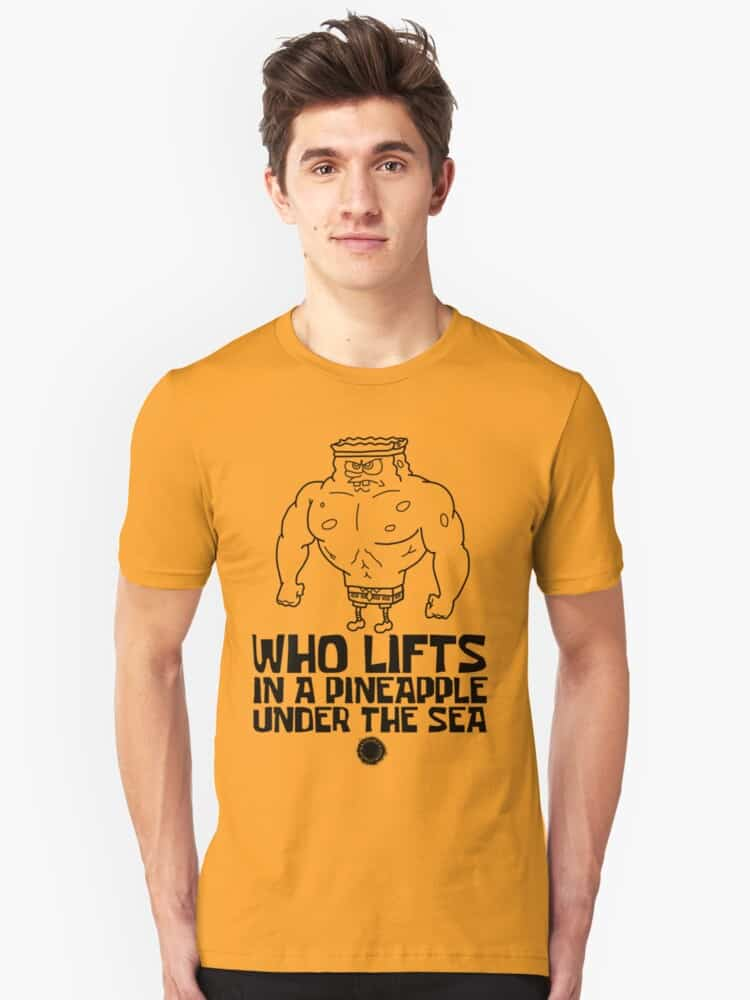 Spongebob Bodybuilding T-shirt