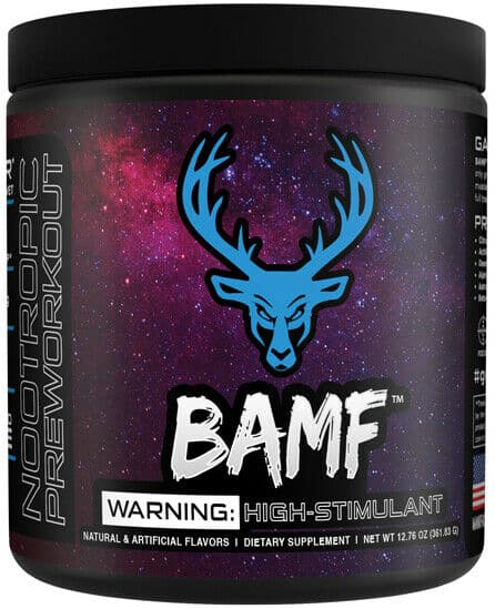 Bucked Up BAMF Pre Workout Review