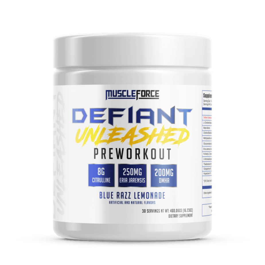 Defiant Unleashed Pre Workout
