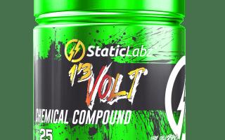 1,3 Volt Pre Workout Review