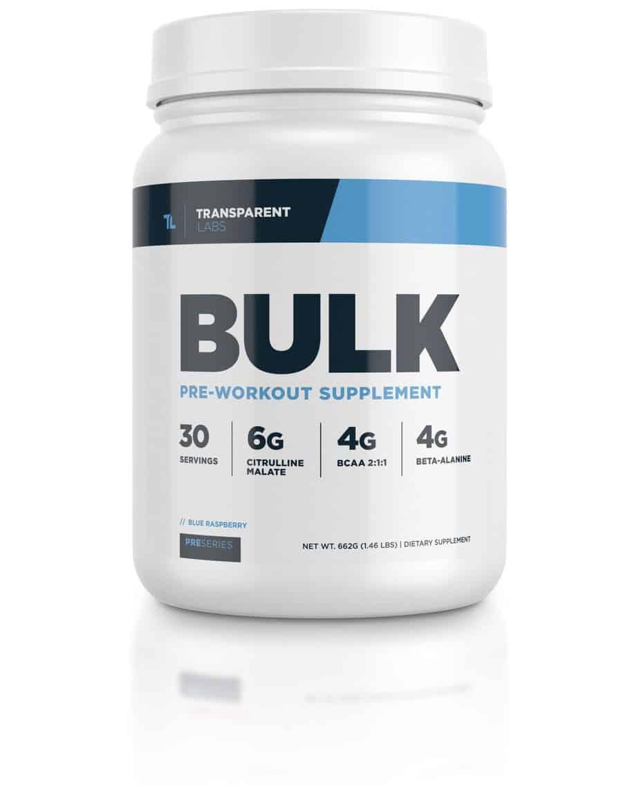 BULK Pre Workout - Transparent Labs