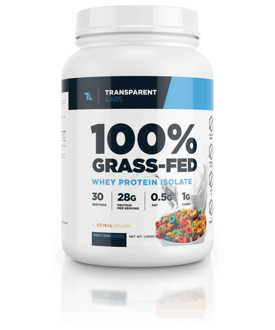 100% Grass Fed Whey Protein Isolate (Transparent Labs)