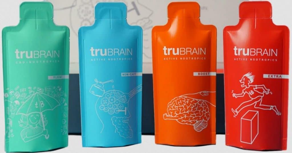 TruBrain Nootropic Drink Variety Pack