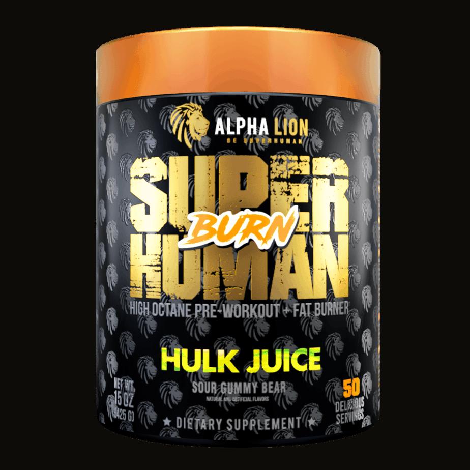 SuperHuman Burn Pre Workout