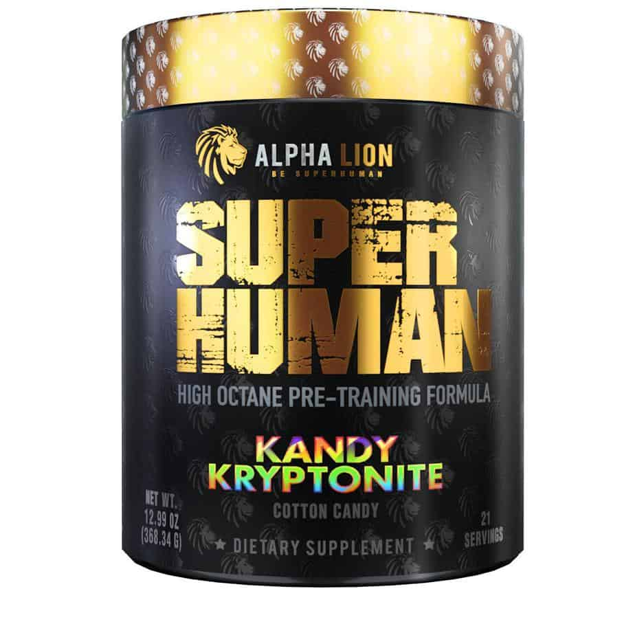 Superhuman Pre Workout – Alpha Lion
