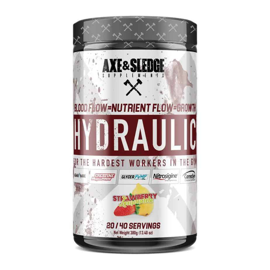 Hydraulic Pre Workout - Axe & Sledge