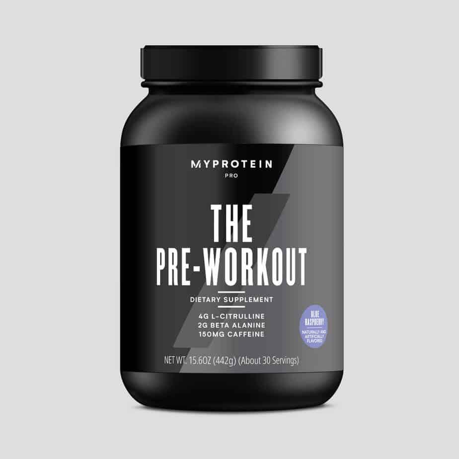 THE Pre Workout - MyProtein
