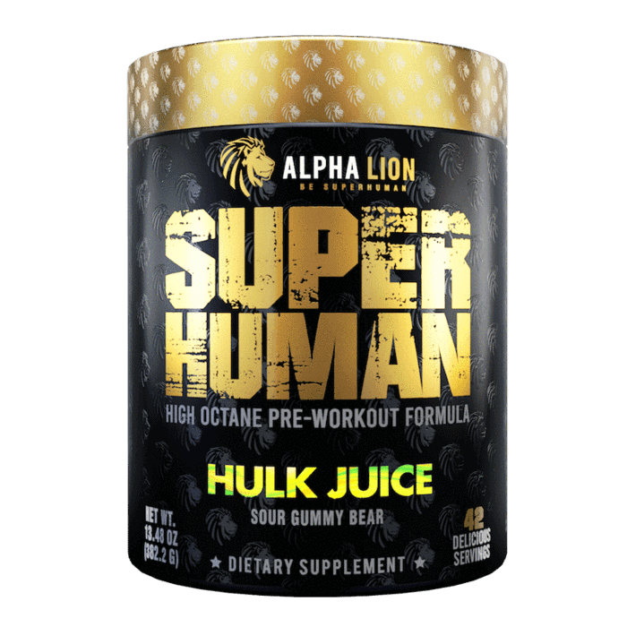 Superhuman Pre Workout - Alpha Lion