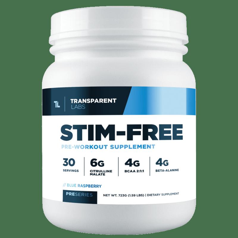 Stim Free Pre Workout - Transparent Labs