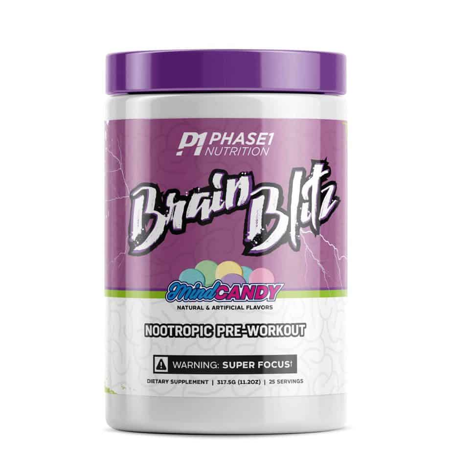 Phase One Nutrition Brain Blitz Pre Workout Nootropic