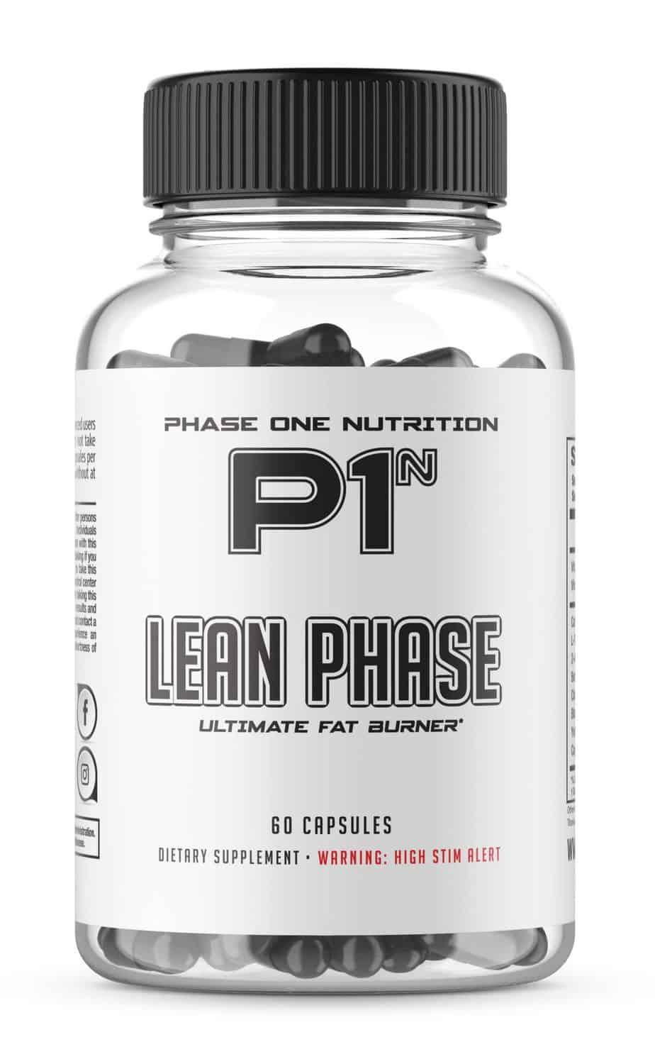 Lean Phase Fat Burner - Phase 1 Nutrition