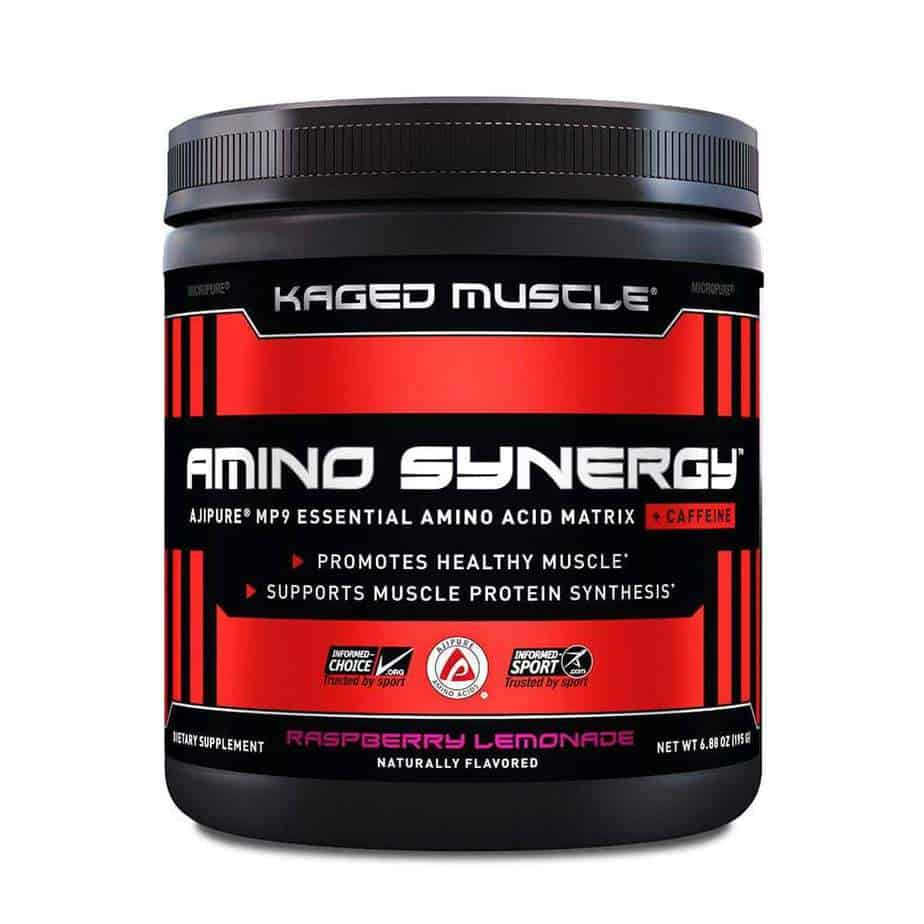 Amino Synergy w/ Caffeine (Kaged Muscle)