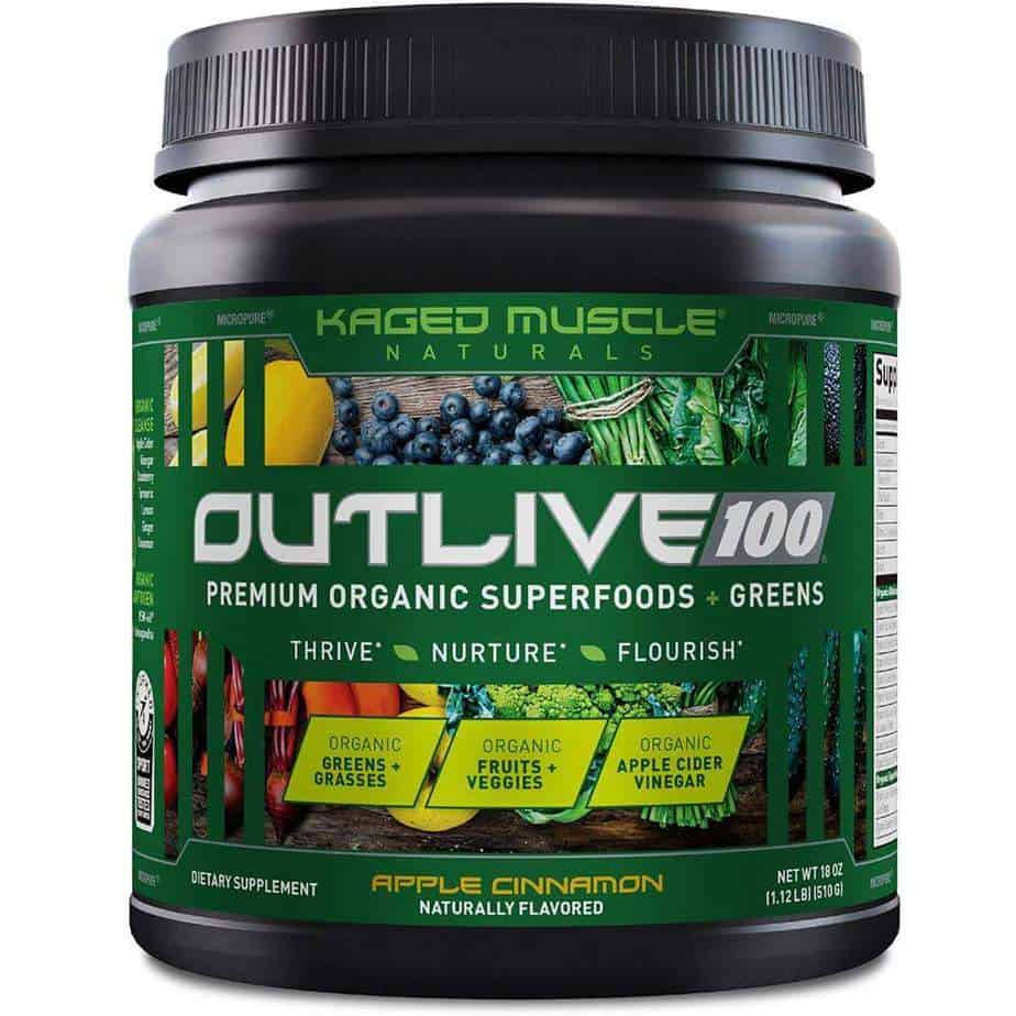 Outlive 100 - Superfoods & Greens Mix