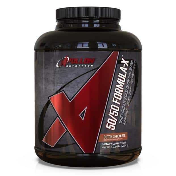 50/50 Formula X Protein Blend (Apollon Nutrition)