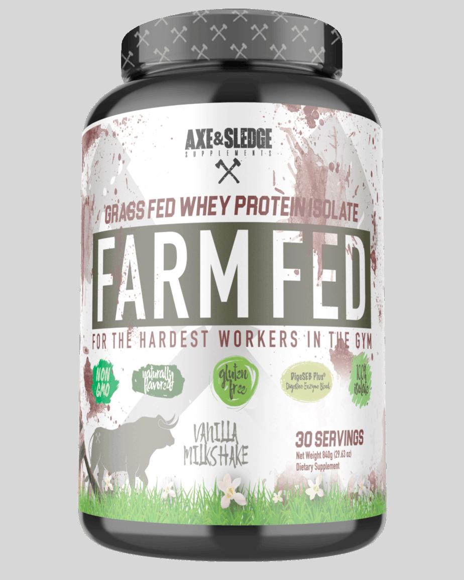 Farm Fed Whey Protein Isolate (Axe & Sledge)