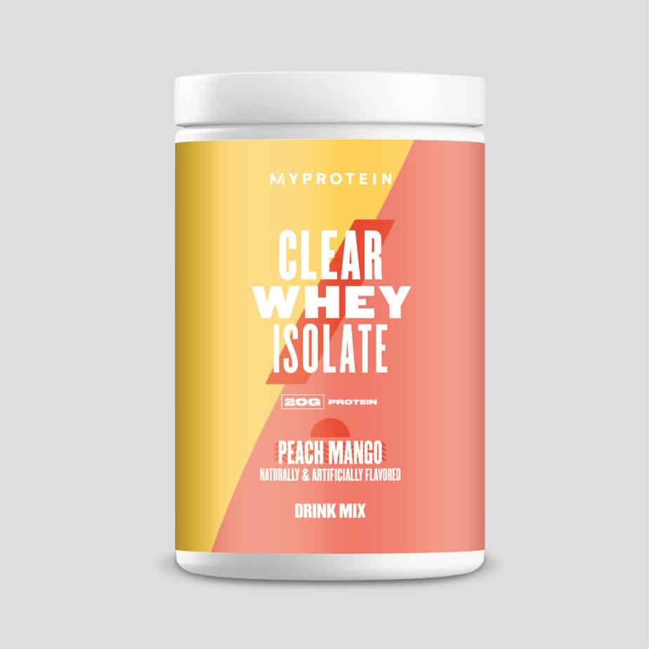 Clear Whey Protein Isolate (MyProtein)