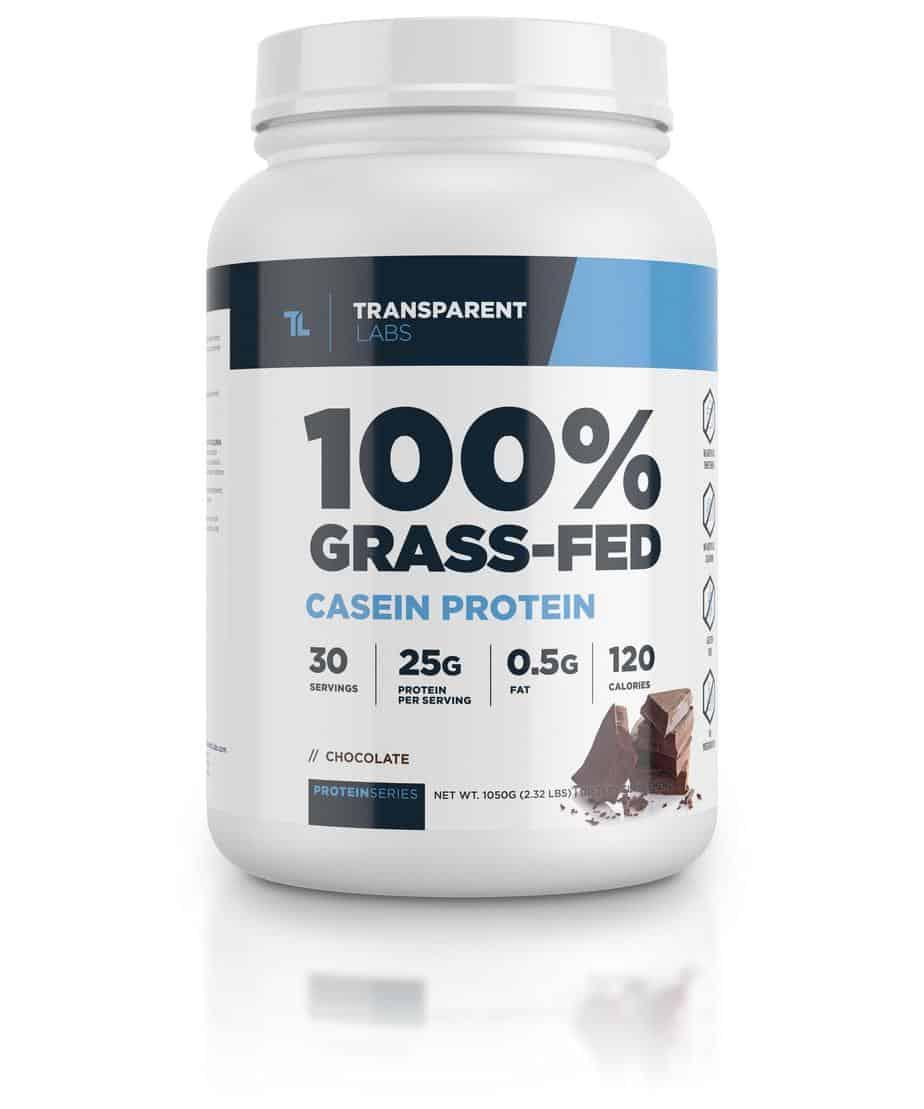 100% Grass-Fed Casein Protein - Transparent Labs