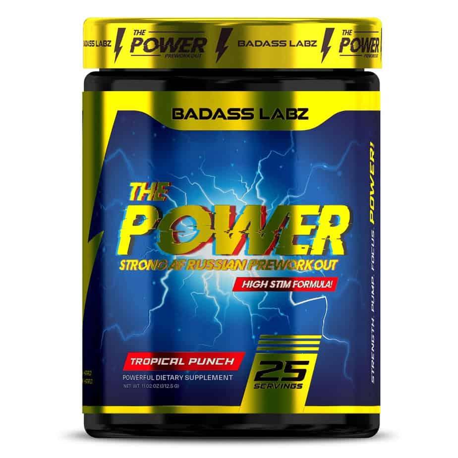 """The """"Russian"""" Power Pre Workout - Badass Labz"""