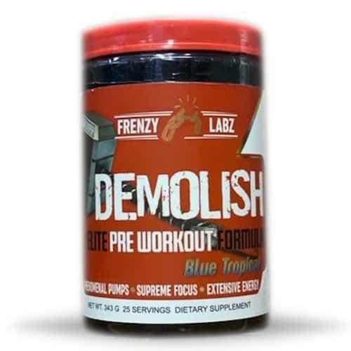 Demolish Pre Workout - Frenzy Labz