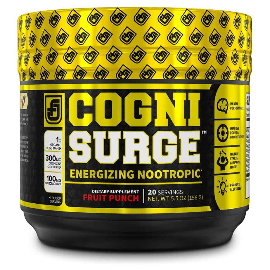 Cognisurge Nootropic - Jacked Factory